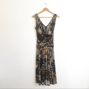 Jones New York Faux Wrap Dress Sz 6
